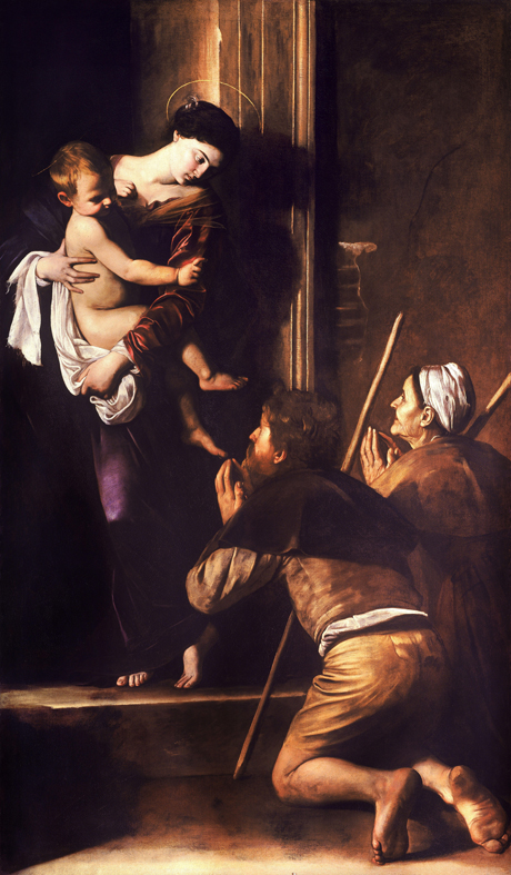 Madonna-of-the-Pilgrims-Caravaggio